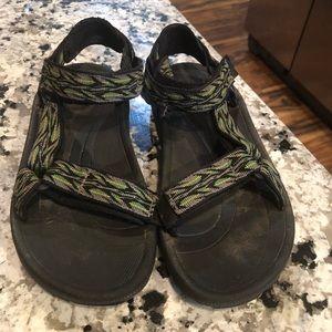 Teva Boys 3 3Y 3K Velcro strappy sandals